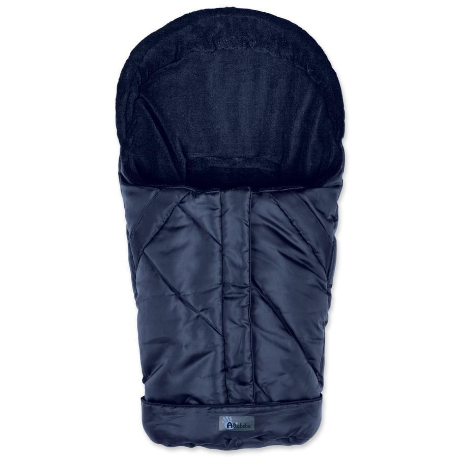 ALTA BÉBE Coprigambe per seggiolino auto invernale NORDIC, blu