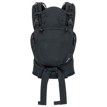 Hoppediz Fular portabebés Nabaca Basic-Set Regular negro