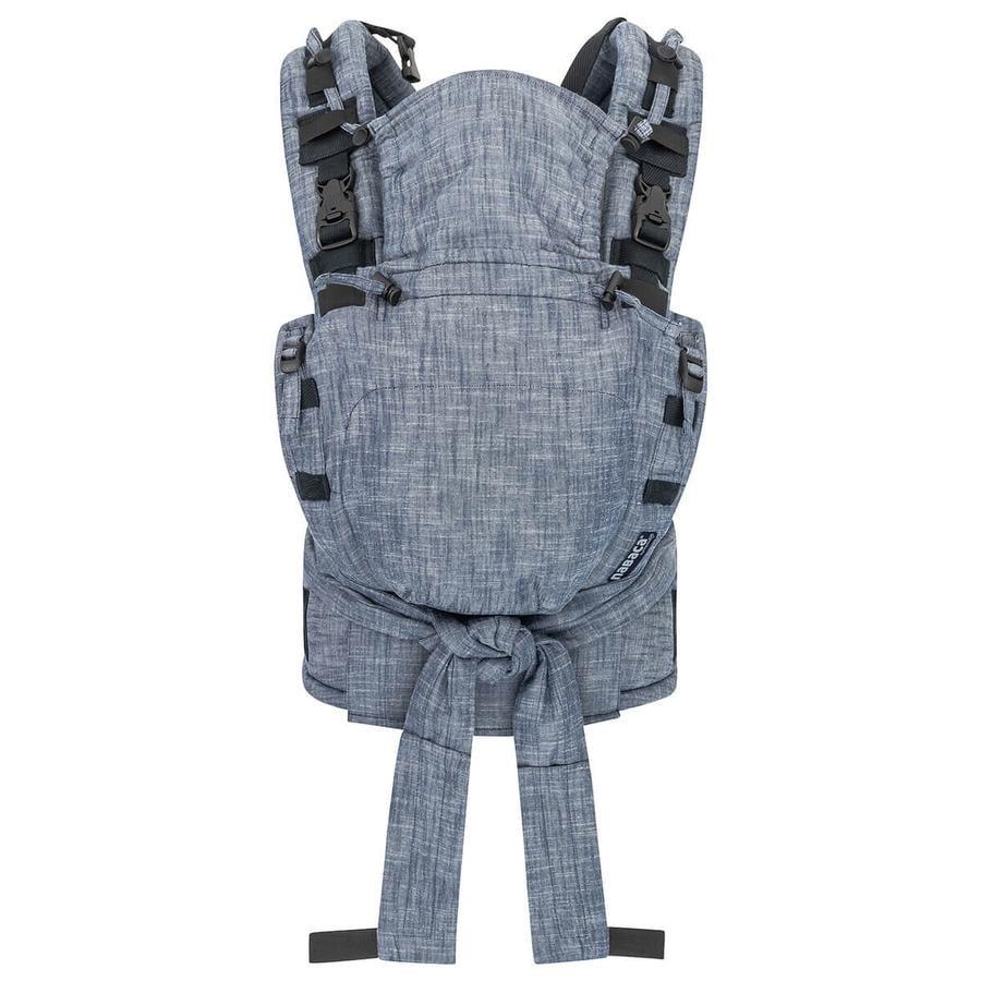 Hoppediz Porte-bébé Nabaca kit de base Regular denim