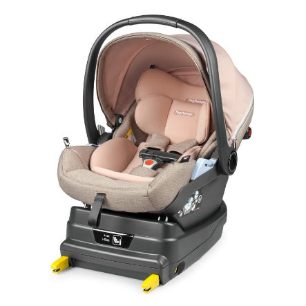 Peg Perego Baby Car Seat Primo Viaggio Lounge Mon Amour wraz z i-Size Base Black