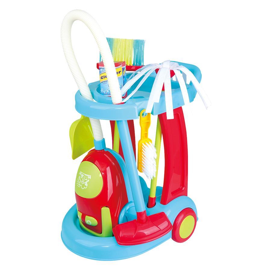 Playgo Mein Reinigungswagen mit Staubsauger