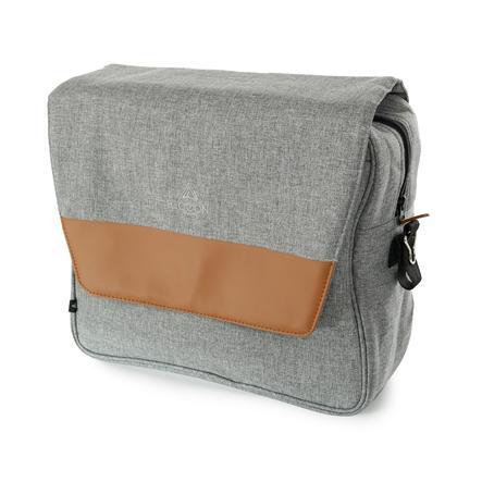 beqooni Přebalovací batoh Sparkling Grey