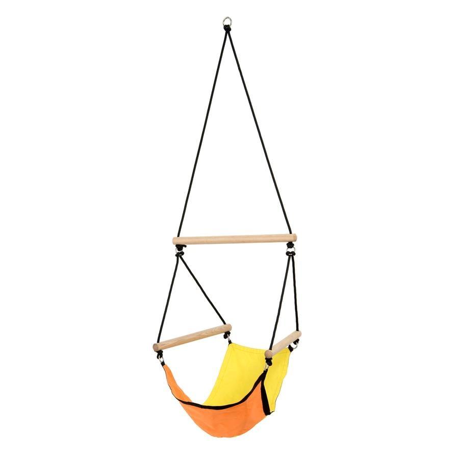 Houpací křeslo AMAZONAS Kid's Swinger Yellow