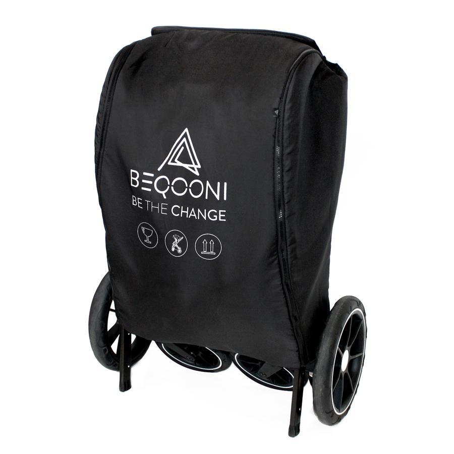 beqooni Travel Bag für Kinderwagen Schwarz