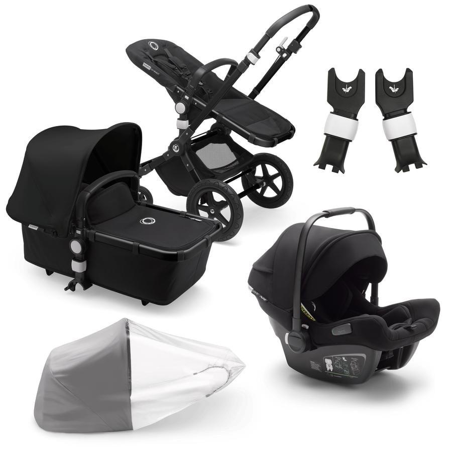 bugaboo Passeggino Duo Cameleon 3 Plus Complete Black / Black incl. Travel Set Black