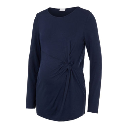 mama;licious Camisa de maternidad MLKARELY Blazer azul marino