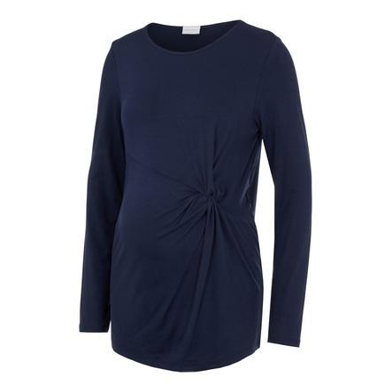 mama;licious Skjorte til gravide MLKARELY Navy Blazer