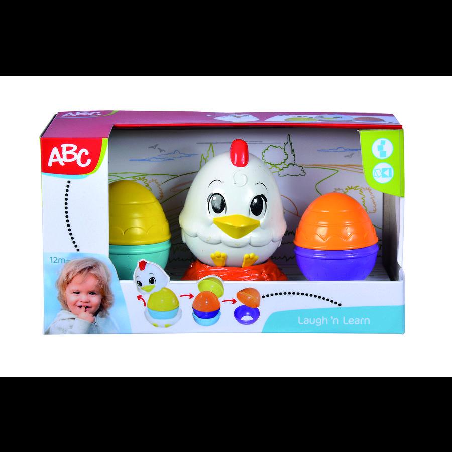 Simba Jeu à empiler poule oeufs découvertes ABC