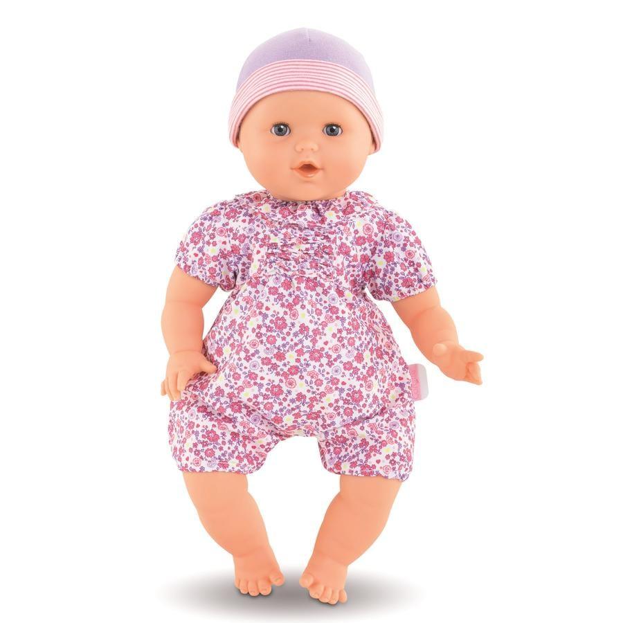 Corolle ® Mon Grand -vauvanukke Emilie imee peukaloaan.