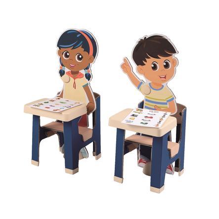 Smoby Classroom tilleggssett for Smoby School