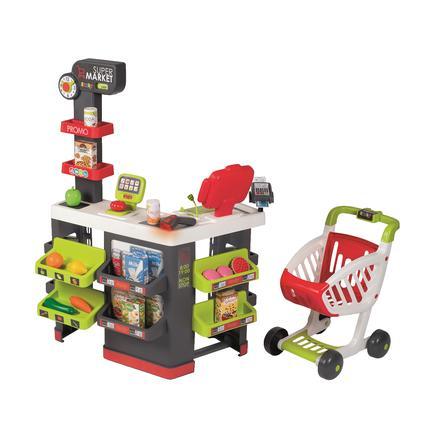 Smoby Supermarkt mit Einkaufswagen
