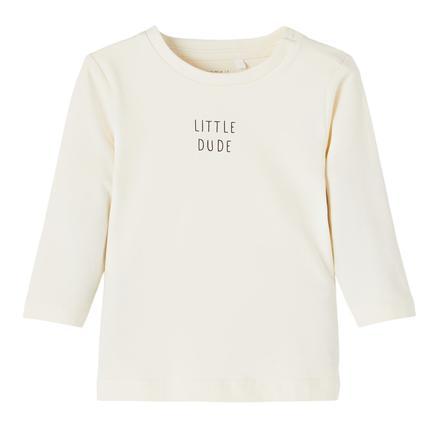 name it Lange Mouw Shirt Nbmluke White pet Grijs