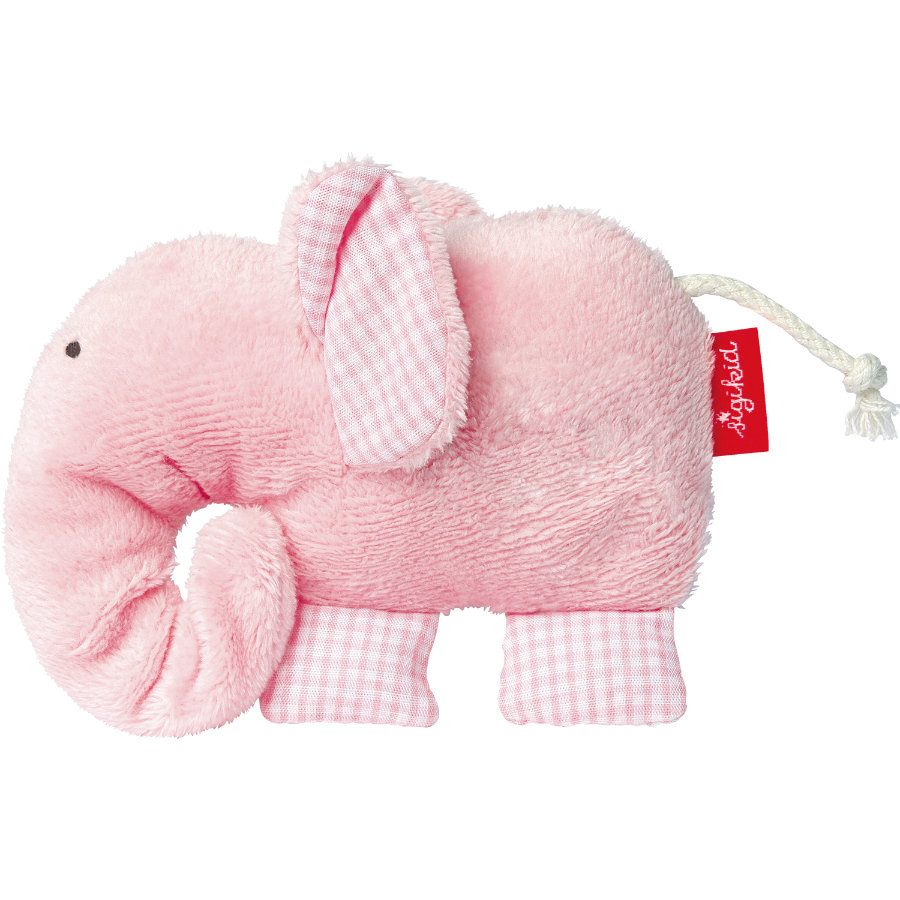 SIGIKID Gripleksak -Elefant - first hugs Organic Collection