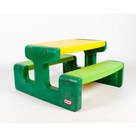 LITTLE TIKES Picnic Table XL green