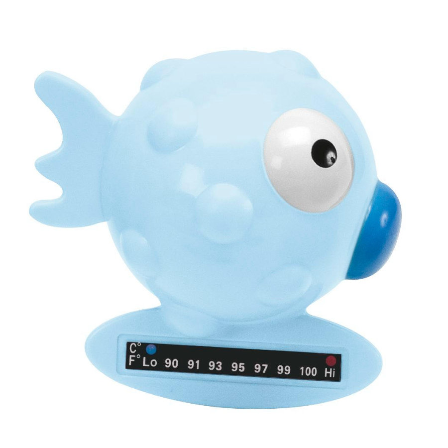 chicco Badethermometer Fisch in blau