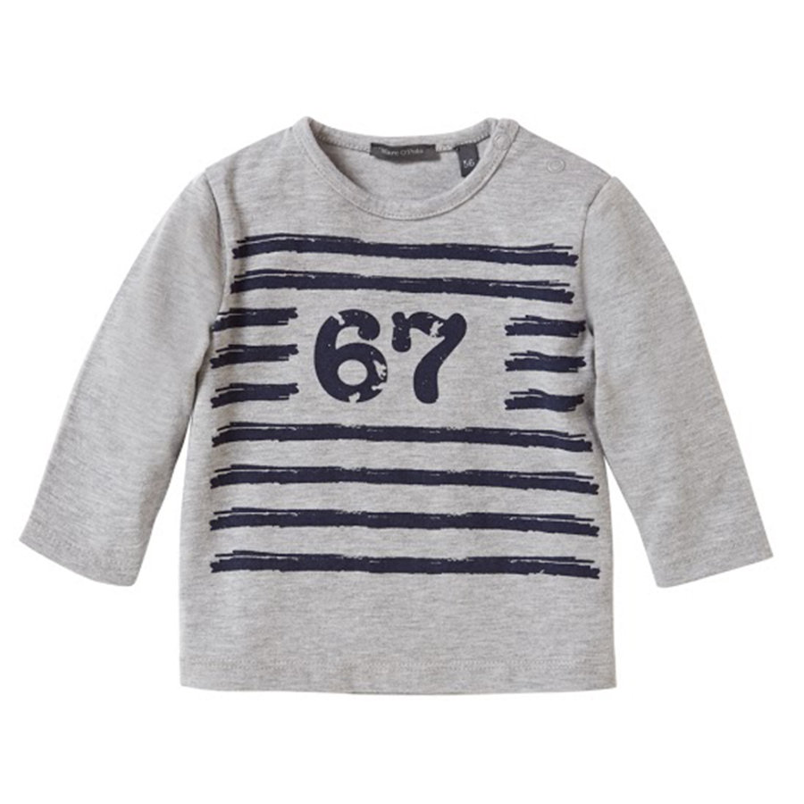 MARC O`POLO Boys Mini Longsleeve gray melange