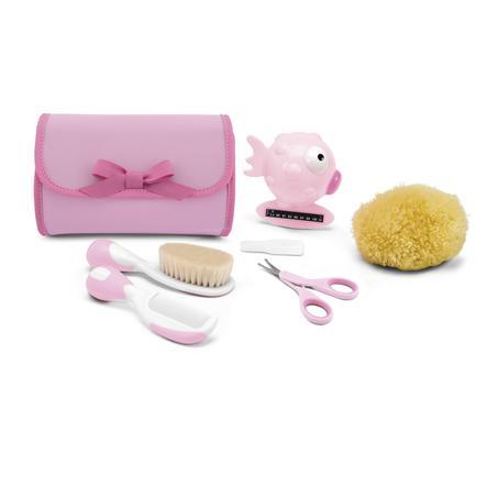 chicco Hygiene Kulturtasche Girl in rosa