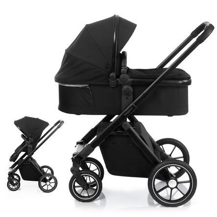 beqooni Combi Stroller 2 in 1 Black Swan