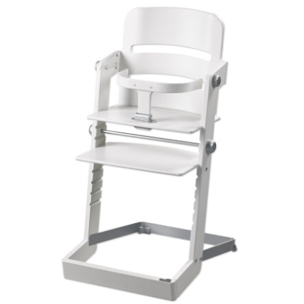 GEUTHER Chaise haute Tamino Hêtre massif blanc (2345)