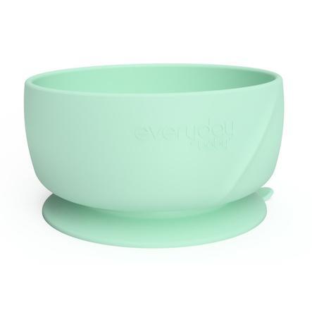everyday Baby Silikon Esslernschüssel mit Saugfuß, mint green