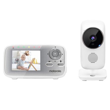 Motorola Video Baby Monitor MBP481XL, 2,4 tuuman värillisellä LCD-näytöllä