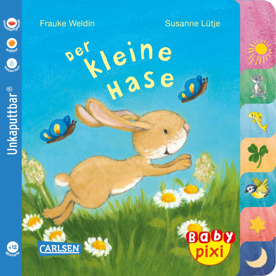 CARLSEN Baby Pixi (unkaputtbar) 97: Der kleine Hase