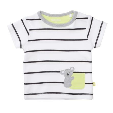 STACCATO  Camiseta a rayas blancas