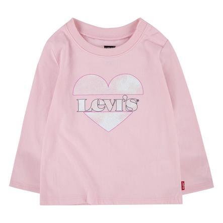 Dětská košile Levi's® s dlouhým rukávem růžová