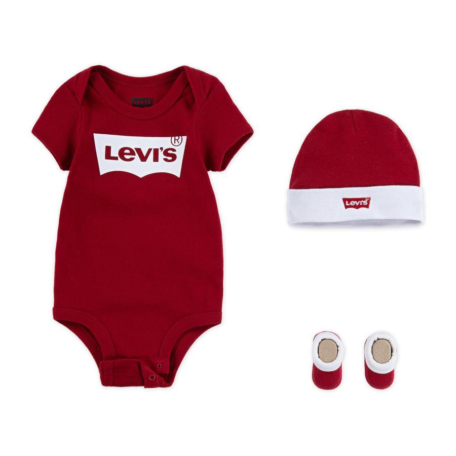 Levi's® Kids Set 3tlg. rot