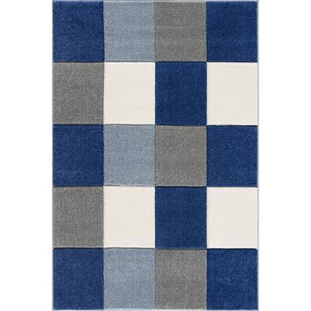 LIVONE Spiel- und Kinderteppich Happy Rugs - Checkerboard blau, 160 x 230 cm