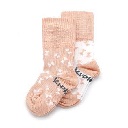 KipKep Stay-On Socken 2er-Pack Party Pink