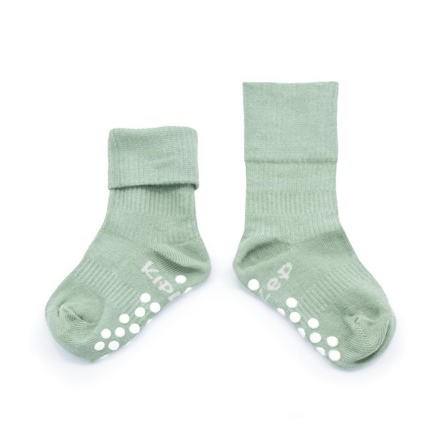 KipKep Stay-On Socken Antislip Calming Green 12 - 18 Monate