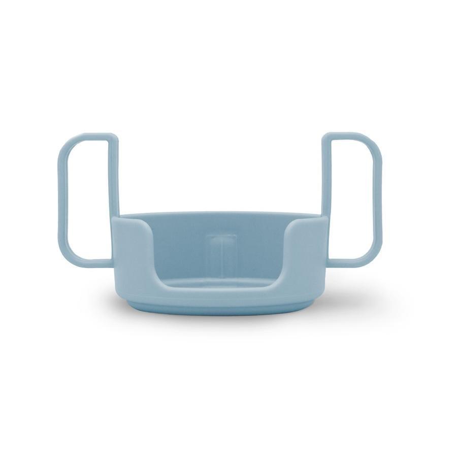Design Letters Halter für Kinder Trinkbecher, Tritan, hellblau