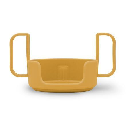 Design Letters Halter für Kinder Trinkbecher, Tritan, senfgelb