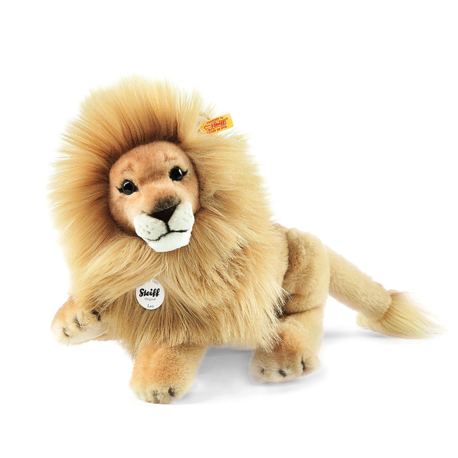 STEIFF Lion-pantin Leo, blond, 34 cm