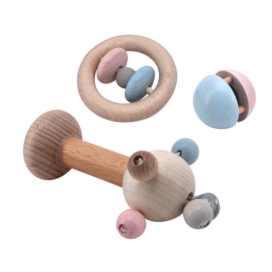 """Voggenreiter Set """"Tic-Toc-Roti"""" (blau/rosa)"""