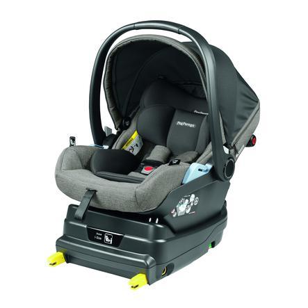 Peg Perego Baby Autostoel Primo Viaggio Lounge City Grijs inclusief i-Size onderstel Zwart