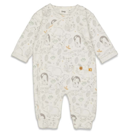 Feetje pyjama Welcome to Earth Off white
