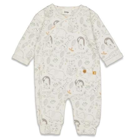 Feetje pyjamas Welcome till Earth white