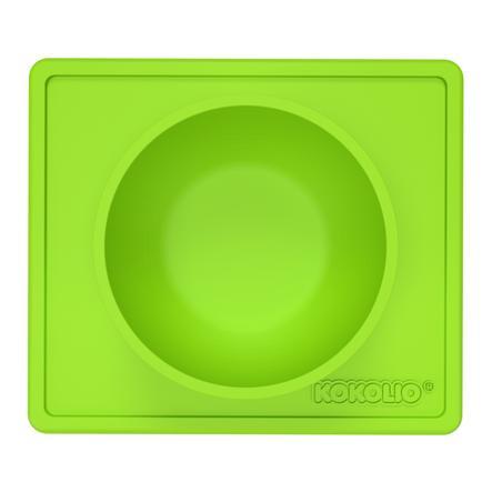 KOKOLIO Esslernschüssel Bowli aus Silikon in grün