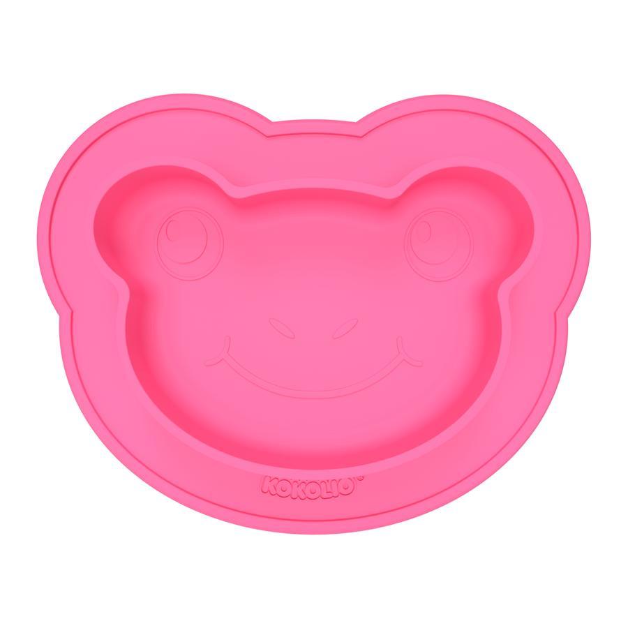 KOKOLIO Frogi silikonmatsal i rosa