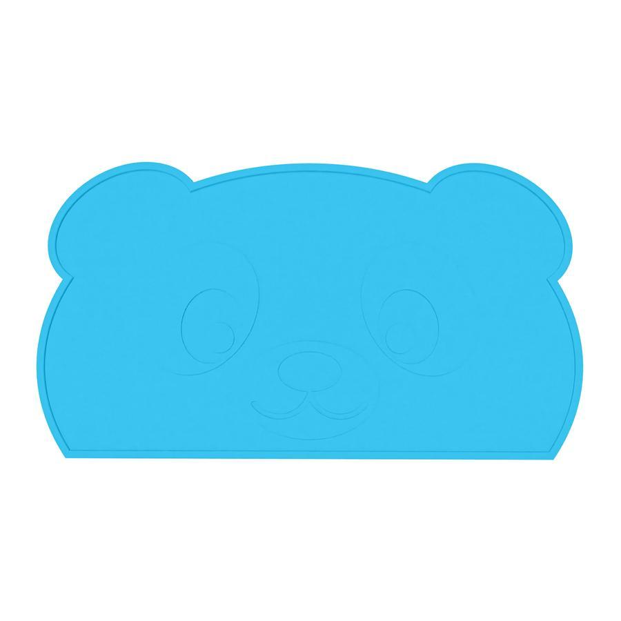 KOKOLIO Tischset Little Panda aus Silikon, in blau