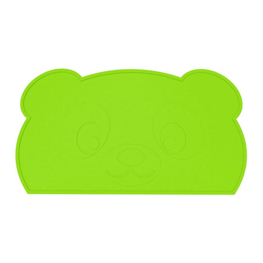 KOKOLIO Tischset Little Panda aus Silikon, in grün