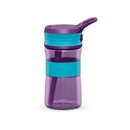 boddels® Trinkflasche EEN türkis / lila 400 ml ab dem 3+ Jahr
