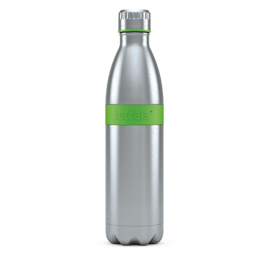 boddels® Trinkflasche TWEE mit Isolierfunktion grün 800 ml ab der Geburt