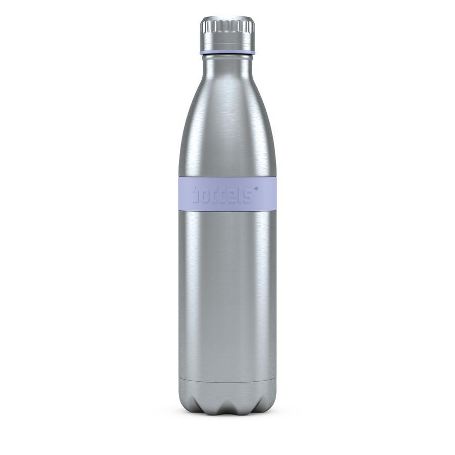 boddels® Trinkflasche TWEE mit Isolierfunktion lila 800 ml ab der Geburt