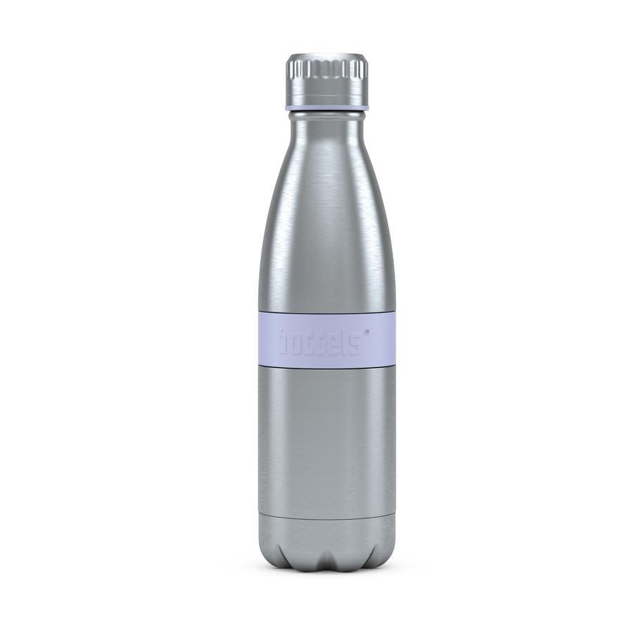 boddels® Trinkflasche TWEE mit Isolierfunktion blau 500 ml ab der Geburt