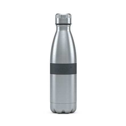 boddels® Trinkflasche TWEE mit Isolierfunktion grau 500 ml ab der Geburt