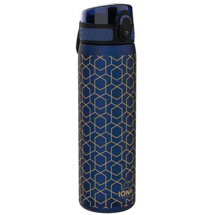 ion8, auslaufsichere Trinkflasche, schlank, geometrisch, 500 ml
