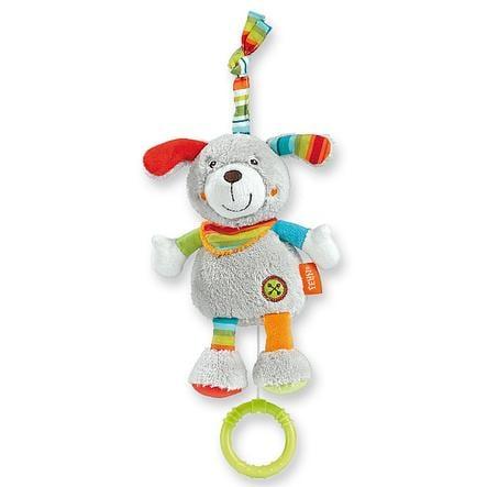 FEHN mini hrací hračka pes HOLIDAY